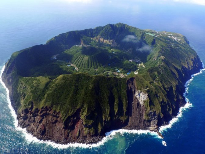 Aogashima : Une île incroyable