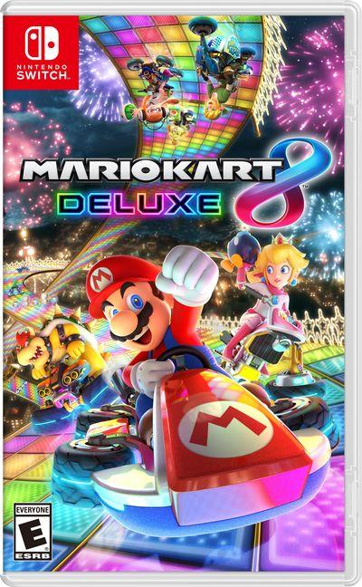 Nintendo Switch : Premières Jaquettes