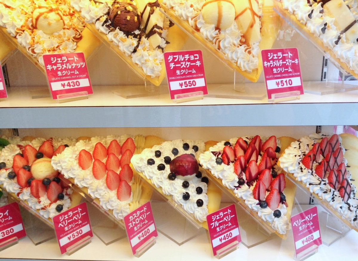 Les crêpes : une institution au Japon