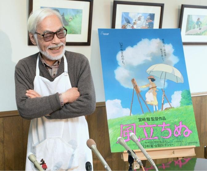 Le maître Hayao Miyazaki de retour !