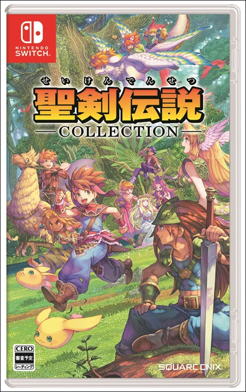 Seiken Densetsu Collection arrive sur Switch
