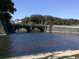Le Palais Imperial à Tokyo sous un superbe soleil, magnifique