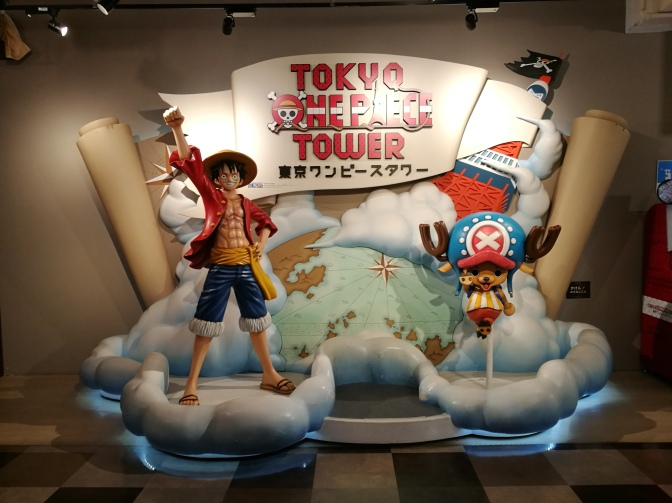 Jour 5 : Tokyo Tower et One Piece