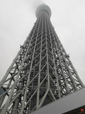 L'interminable Tokyo Skytree «634 mètres» à tokyo. Elle donne carrément le vertige même tout en bas.