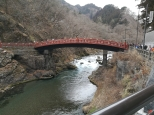 le pont mythique Shinkyo à Nikko, à deux heures de train de Tokyo.