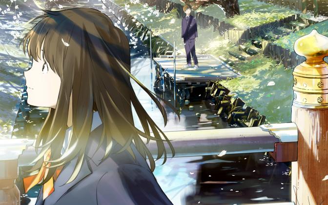 Tsuki ga Kirei, une romance magnifique