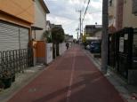 Mitaka, un endroit paisible, une rue calme et reposante à côté du musée ghibli.