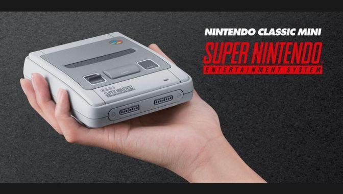 Nintendo annonce la SNES Classic Mini