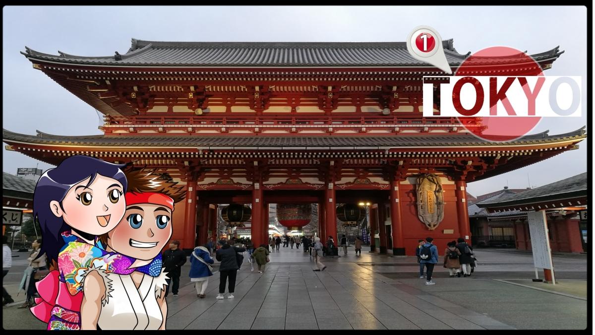 Visite d'Akihabara et Asakusa (Vers.longue) #1