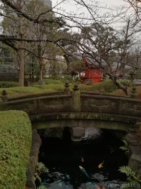 Le parc à côté du SensoJi à Asakusa, un petit coin de verdure très reposant.