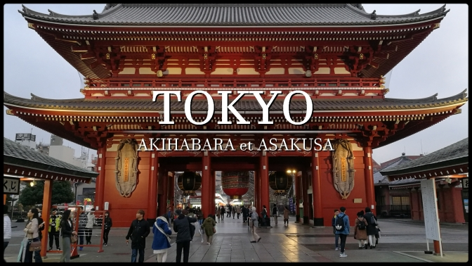 Voyage à Tokyo : Visite d'Akihabara et Asakusa #1