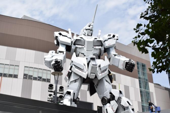 Tokyo : Le nouveau Gundam à Odaiba (Jour 7)