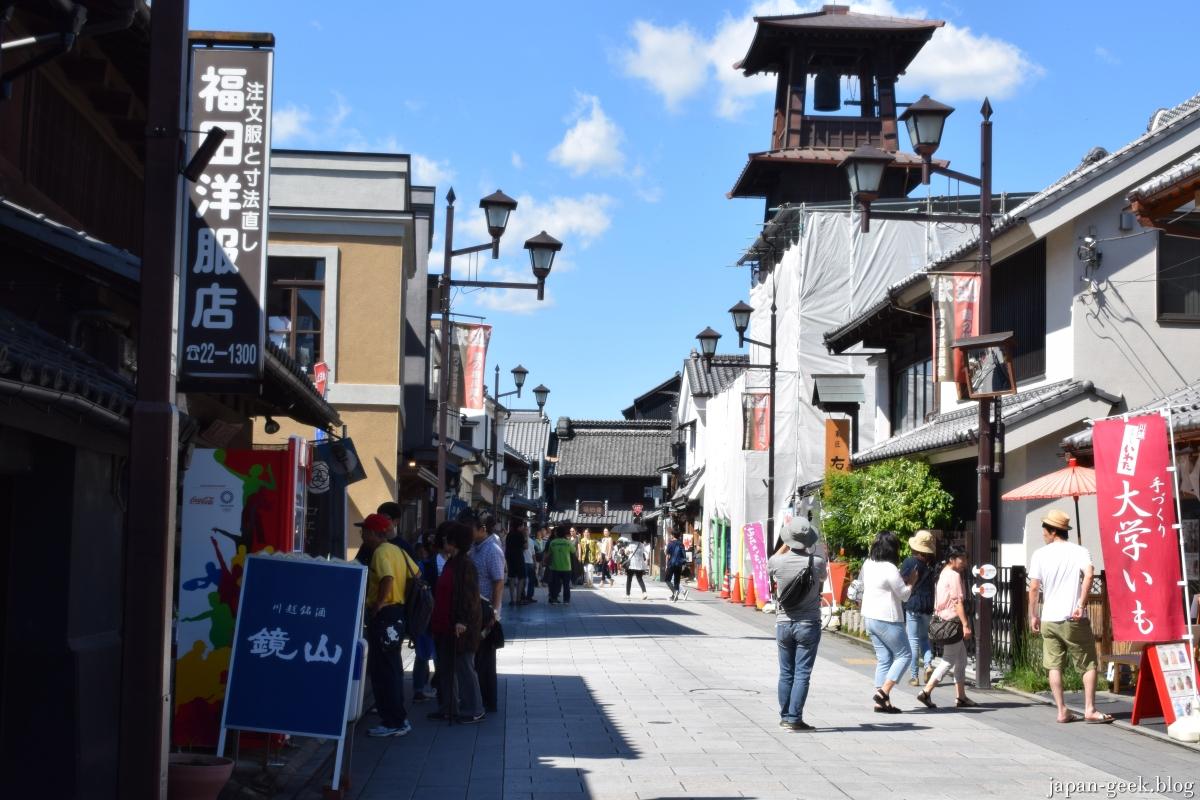 Tokyo : Visite de la petite Edo, Kawagoe