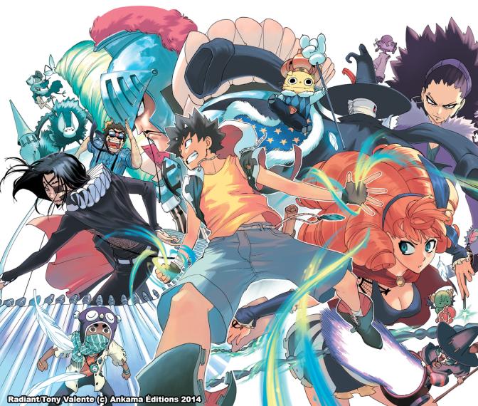 Le manga français Radiant adapté en animé… au Japon !