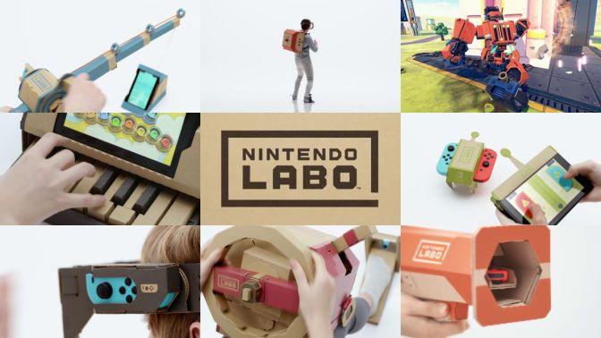 Nintendo Labo : plus complet que jamais !