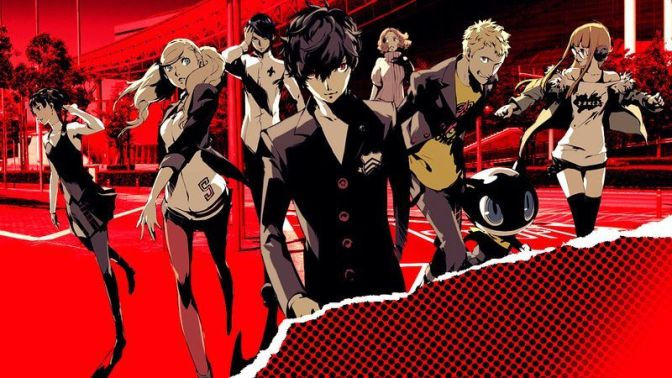 Persona 5 The Animation sur Wakanim !