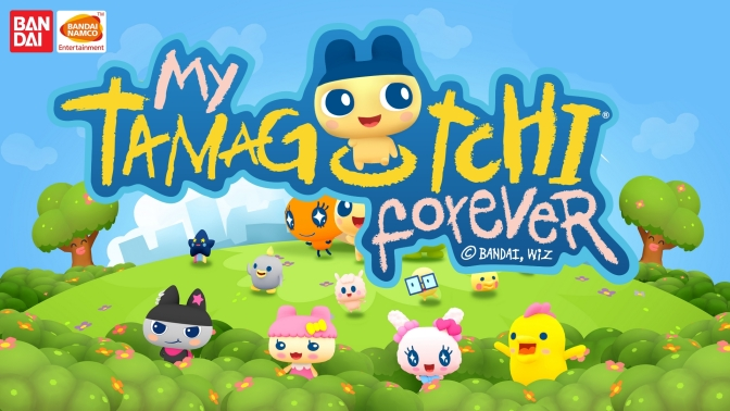My Tamagotchi Forever disponible sur Android et IOS