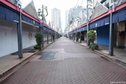 Célèbre rue pour manger de bons Monjayaki !