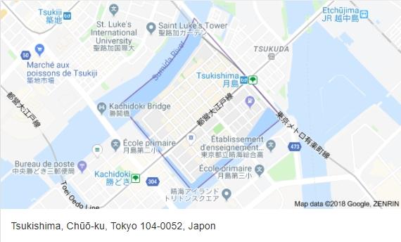 map tsukishima