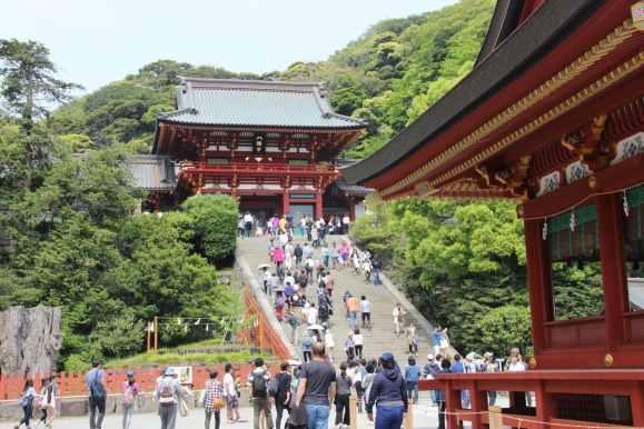 mademoiselle-mylene-hamakura-temple-Tsurugaoka-Hachiman-gu-13
